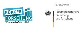 Bürger Forschung – Wissenschaft für alle Logo