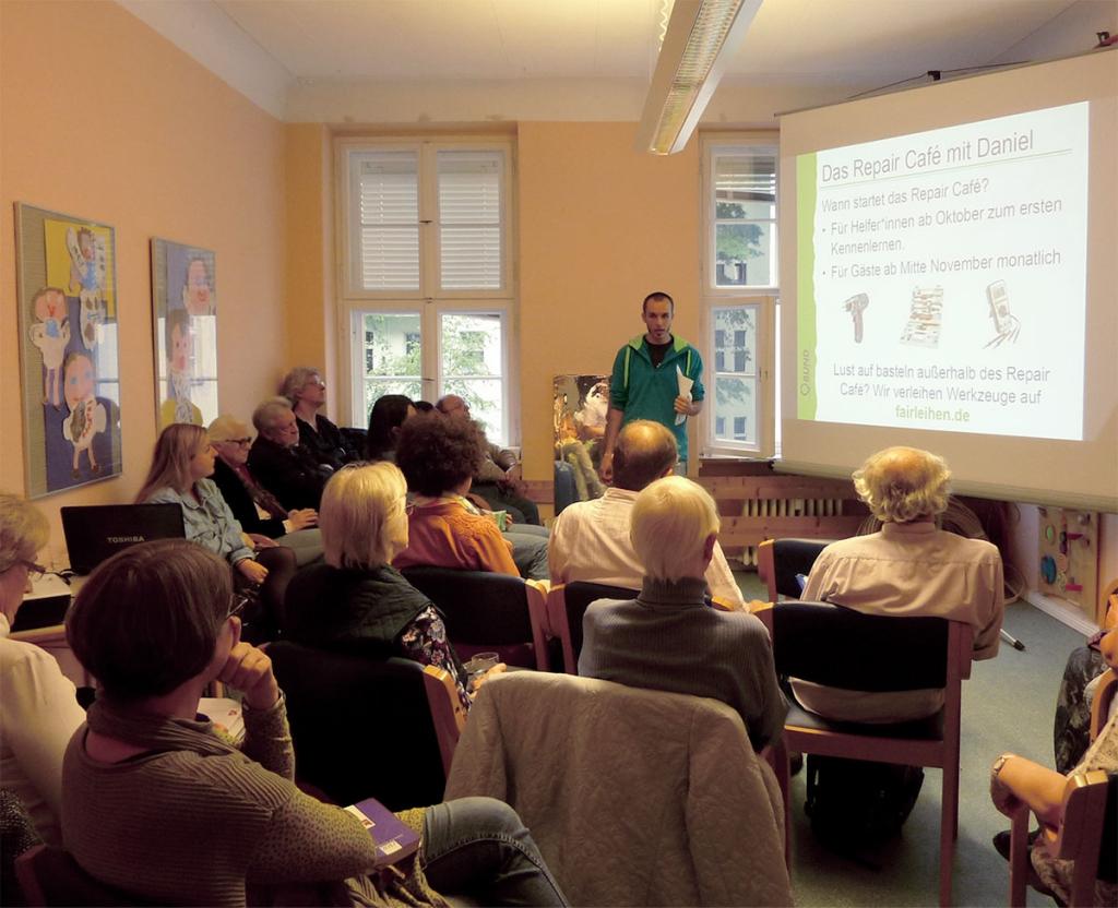 Vorträge im Gemeindehaus Markus