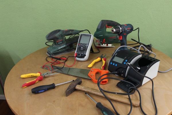 Werkzeuge zum ausleihen